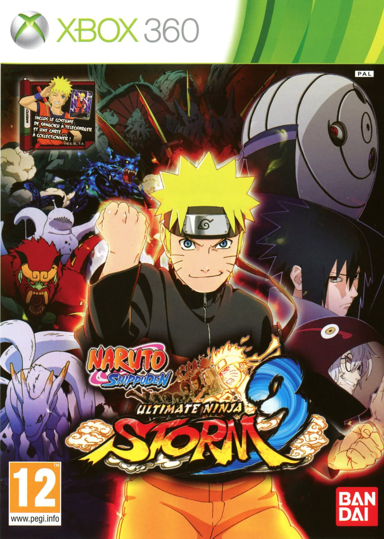 Jaquette Naruto Shippuden : Ultimate Ninja Storm 3