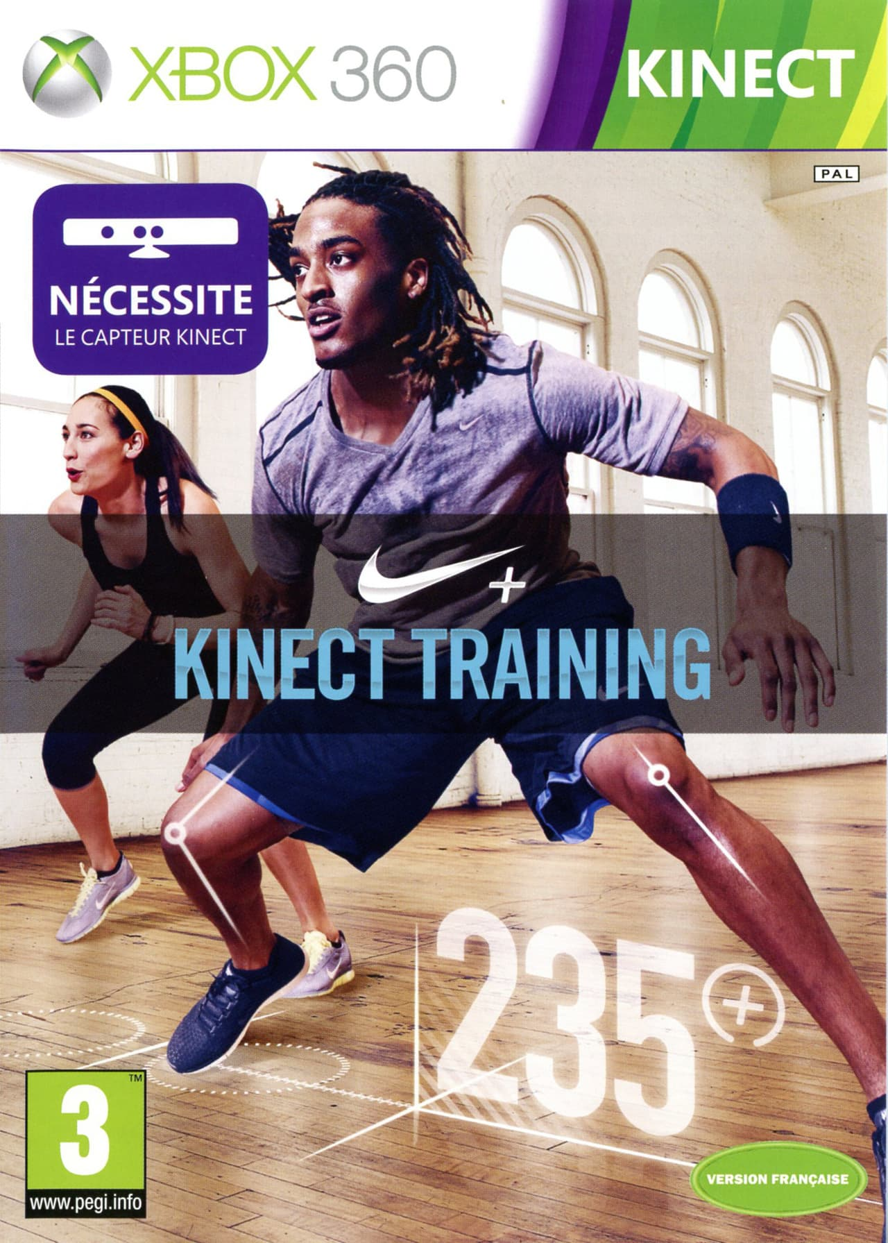 Jaquette Nike + Kinect Training