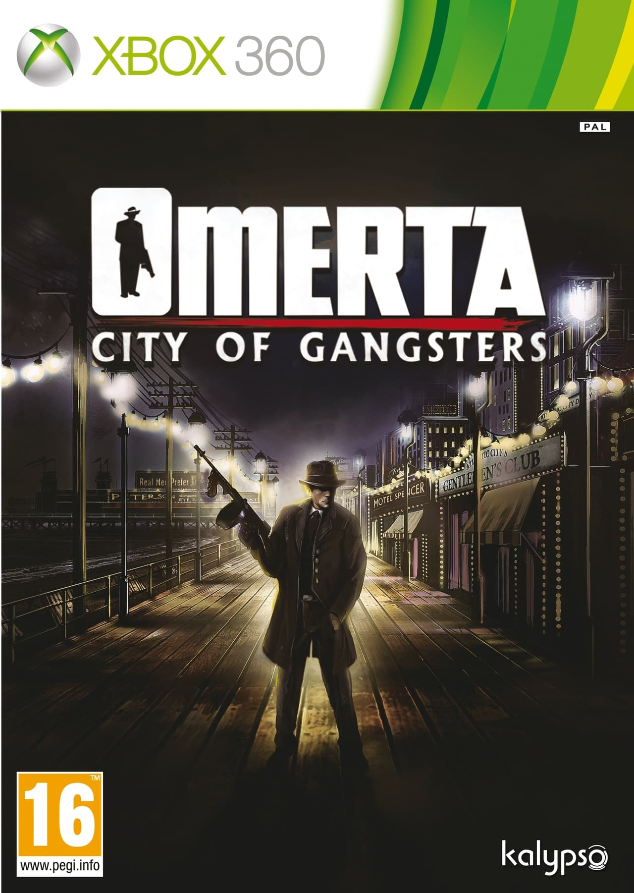 Jaquette Omerta : City of Gangsters