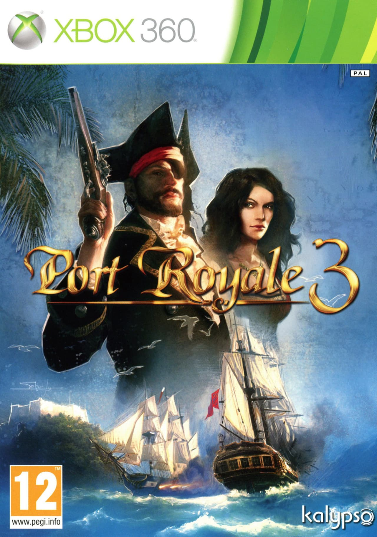 Jaquette Port Royale 3