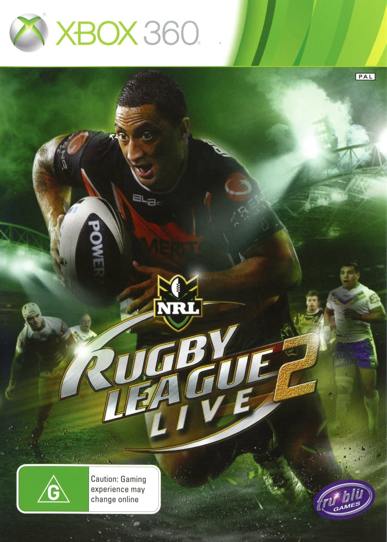 Jaquette Rugby League Live 2