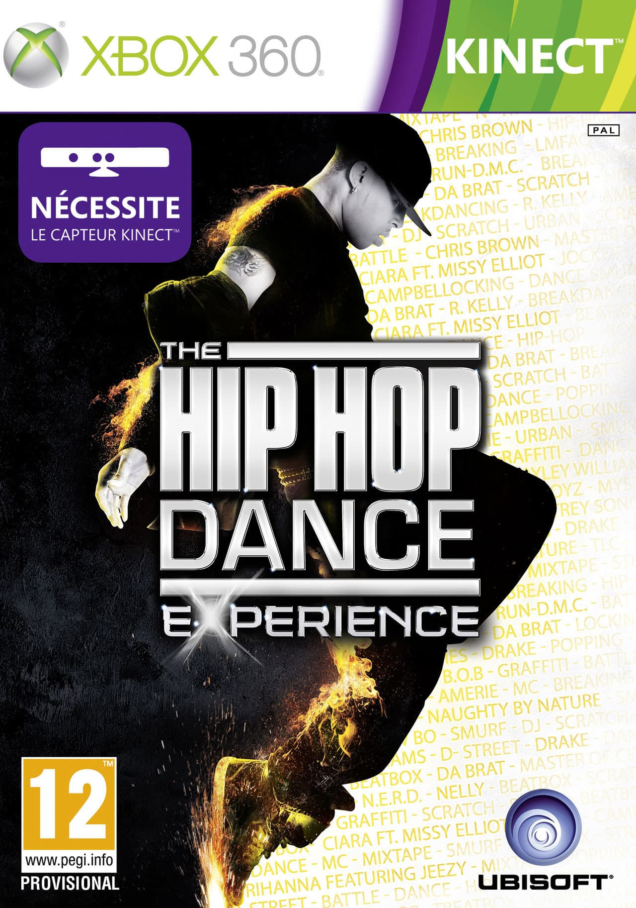 Jaquette The Hip-Hop Dance Experience