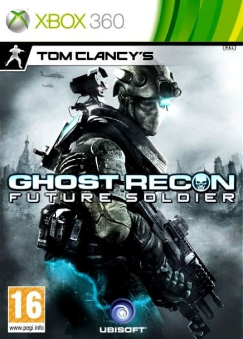 Jaquette Ghost Recon Future Soldier