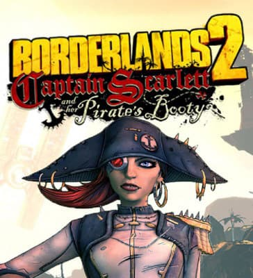 Jaquette Borderlands 2 : Le Capitaine Scarlett et son Butin de Pirate