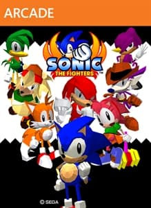 Jaquette Sonic the Fighters