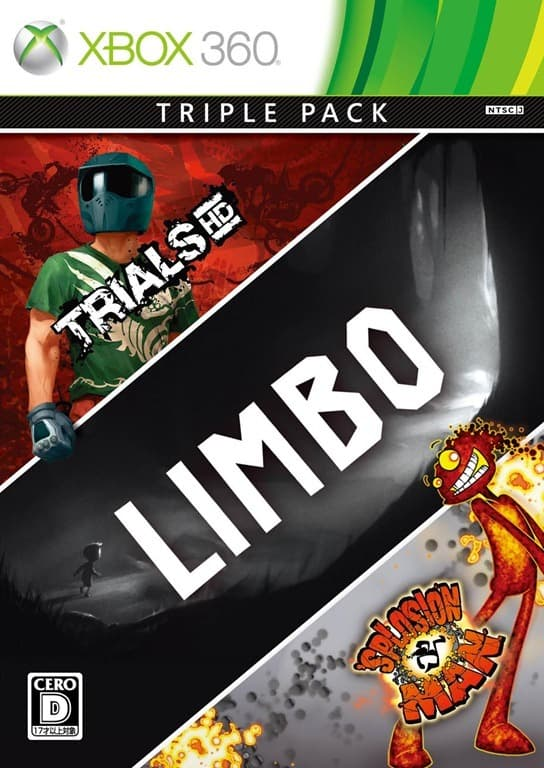 Jaquette Triple Pack : Trials HD - Limbo - 'Splosion Man