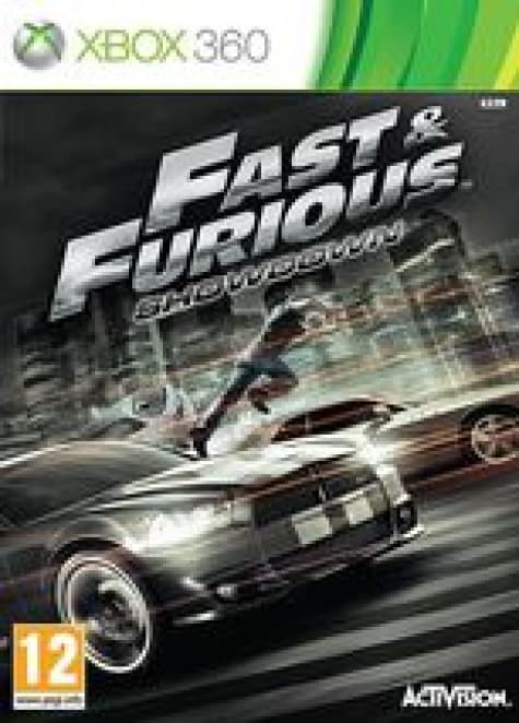 Jaquette Fast and Furious:Showdown
