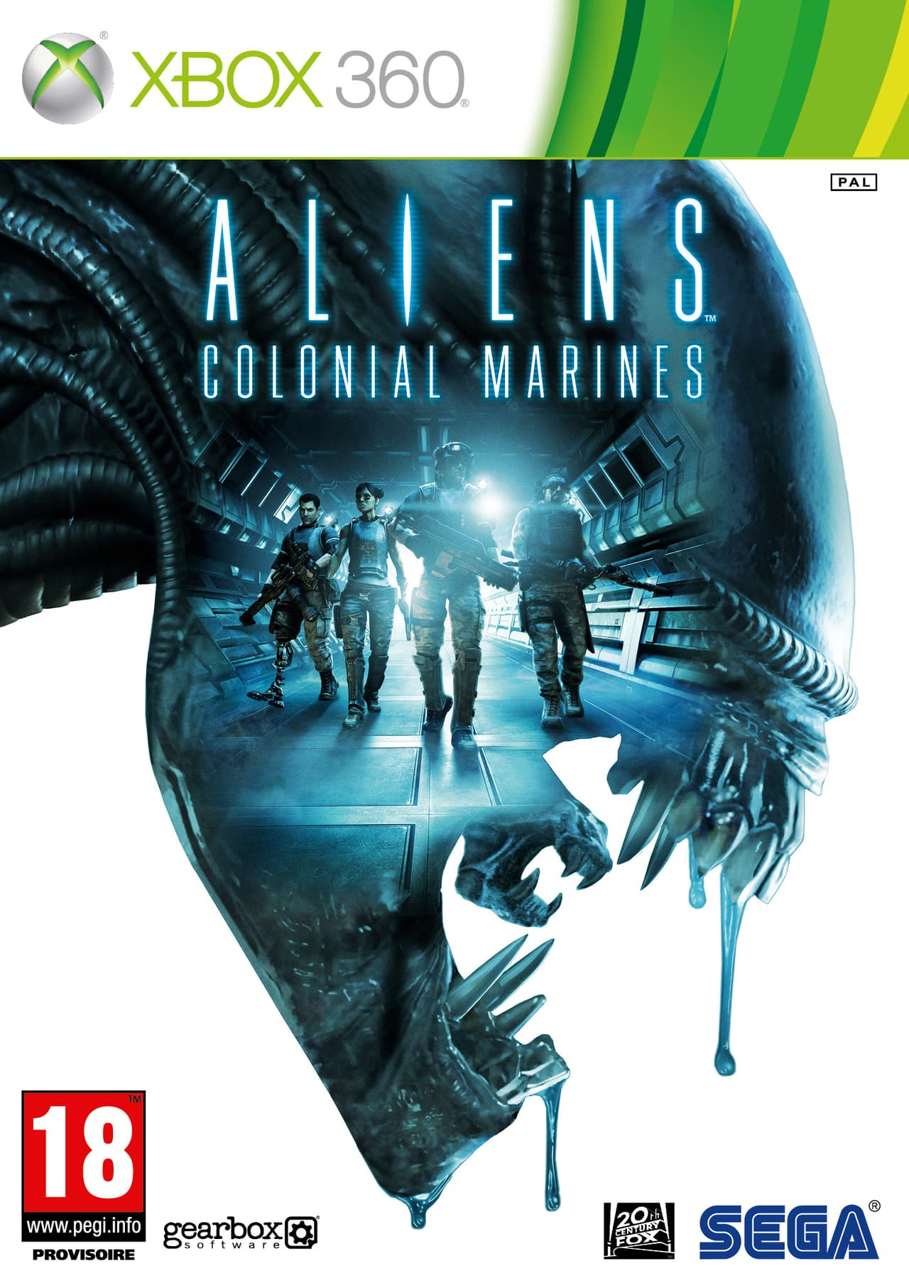 Jaquette Aliens : Colonial Marines