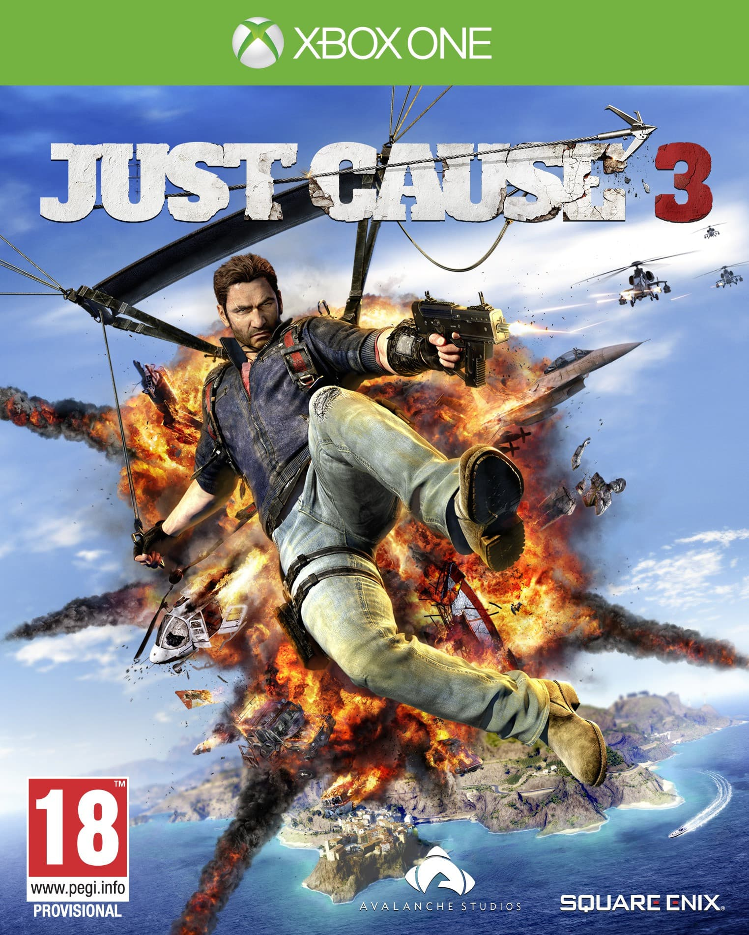 Jaquette Just Cause 3