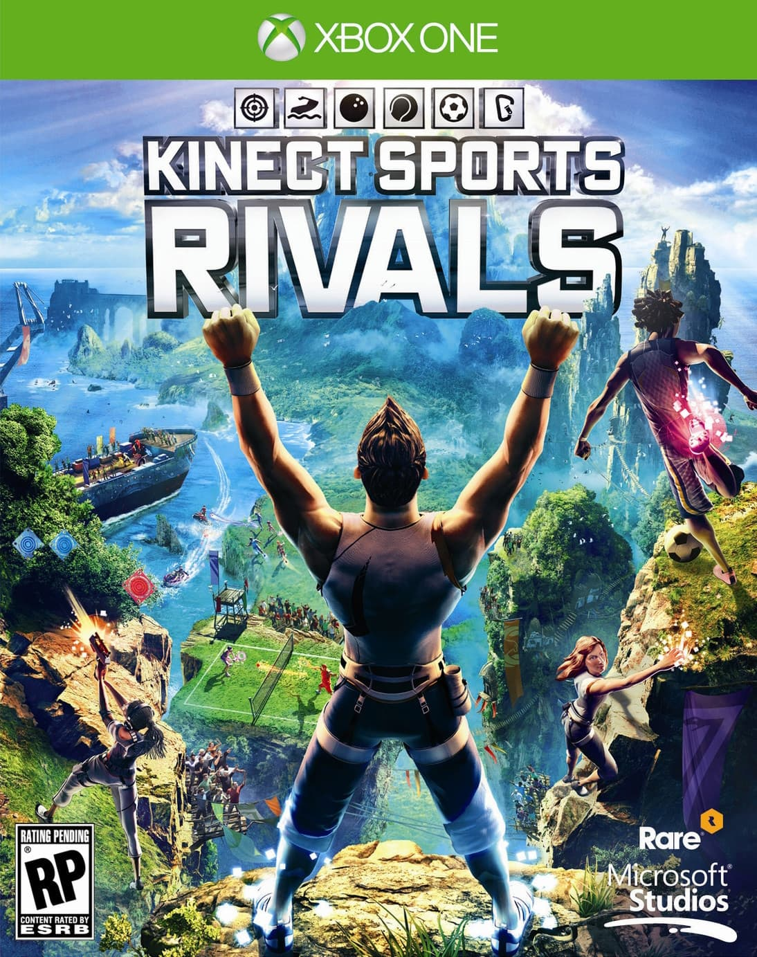 Jaquette Kinect Sports Rivals