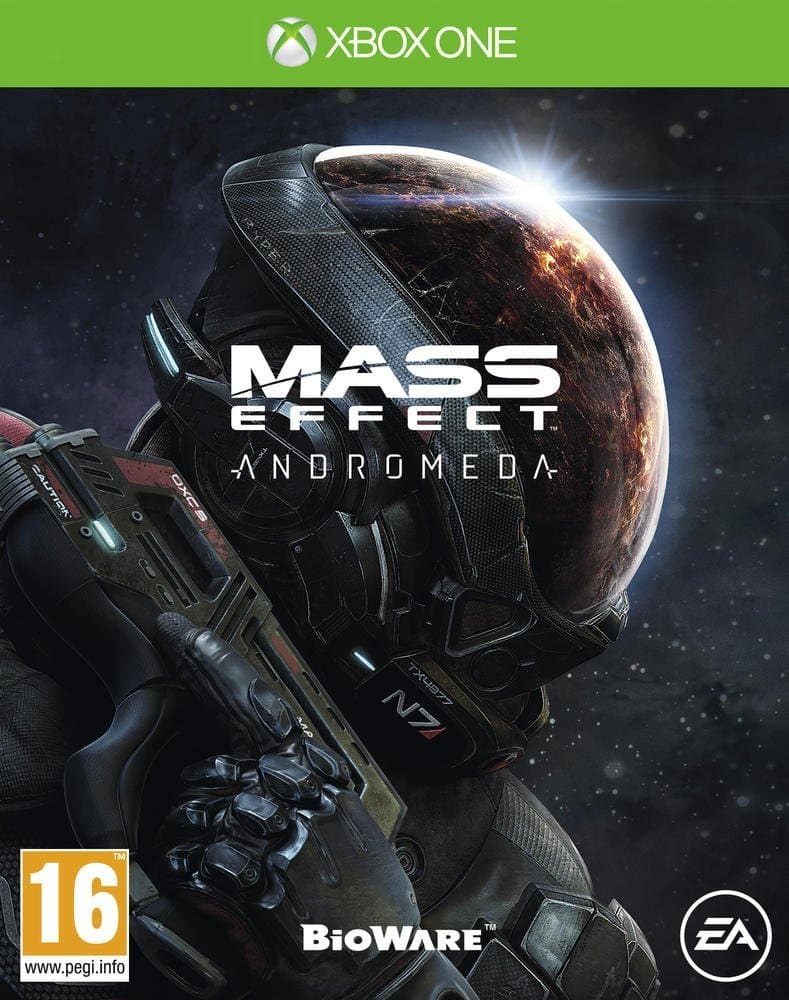 Jaquette Mass Effect Andromeda