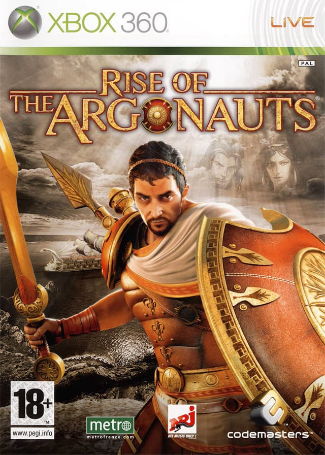 Jaquette Rise of the Argonauts