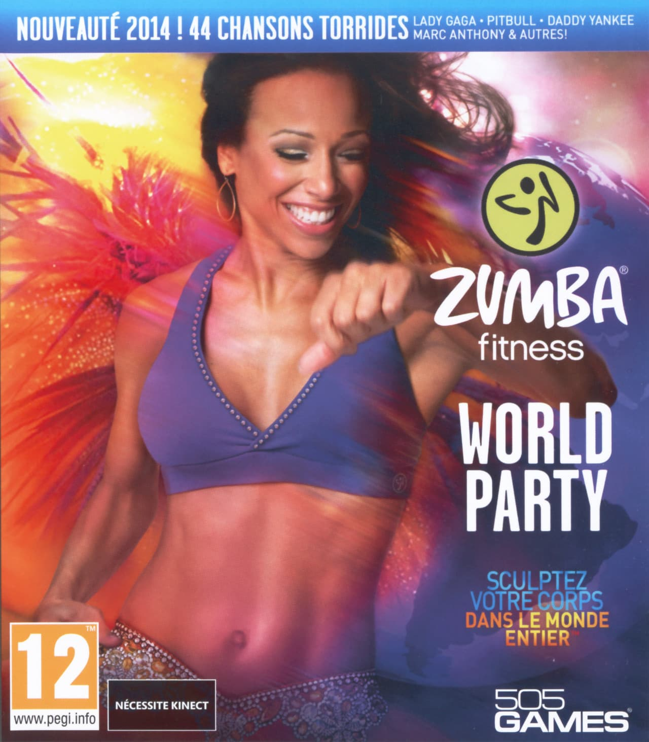 Jaquette Zumba Fitness World Party