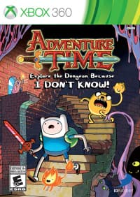 Jaquette Adventure Time : Explore the Dungeon Because I Don't Know!