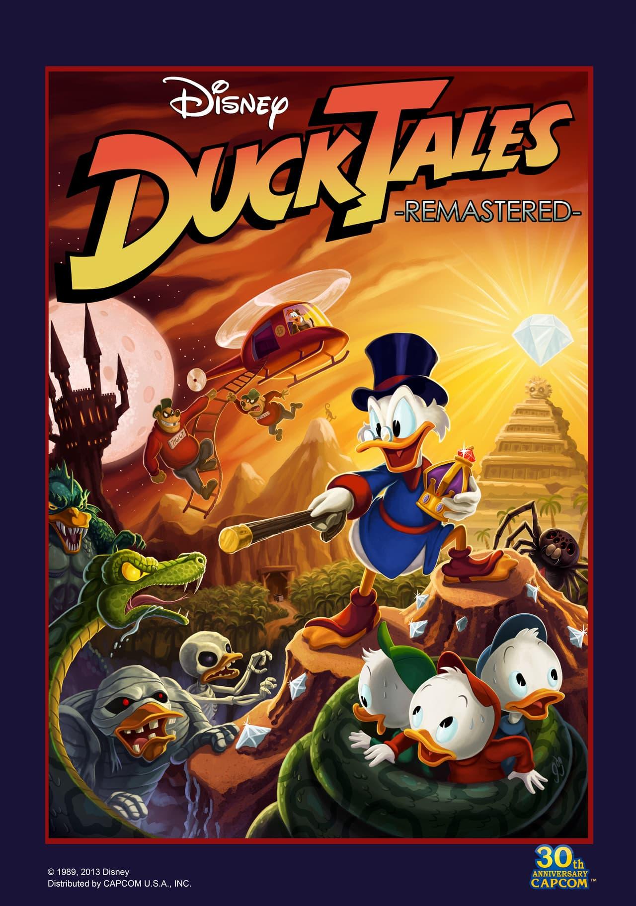 Jaquette DuckTales Remastered