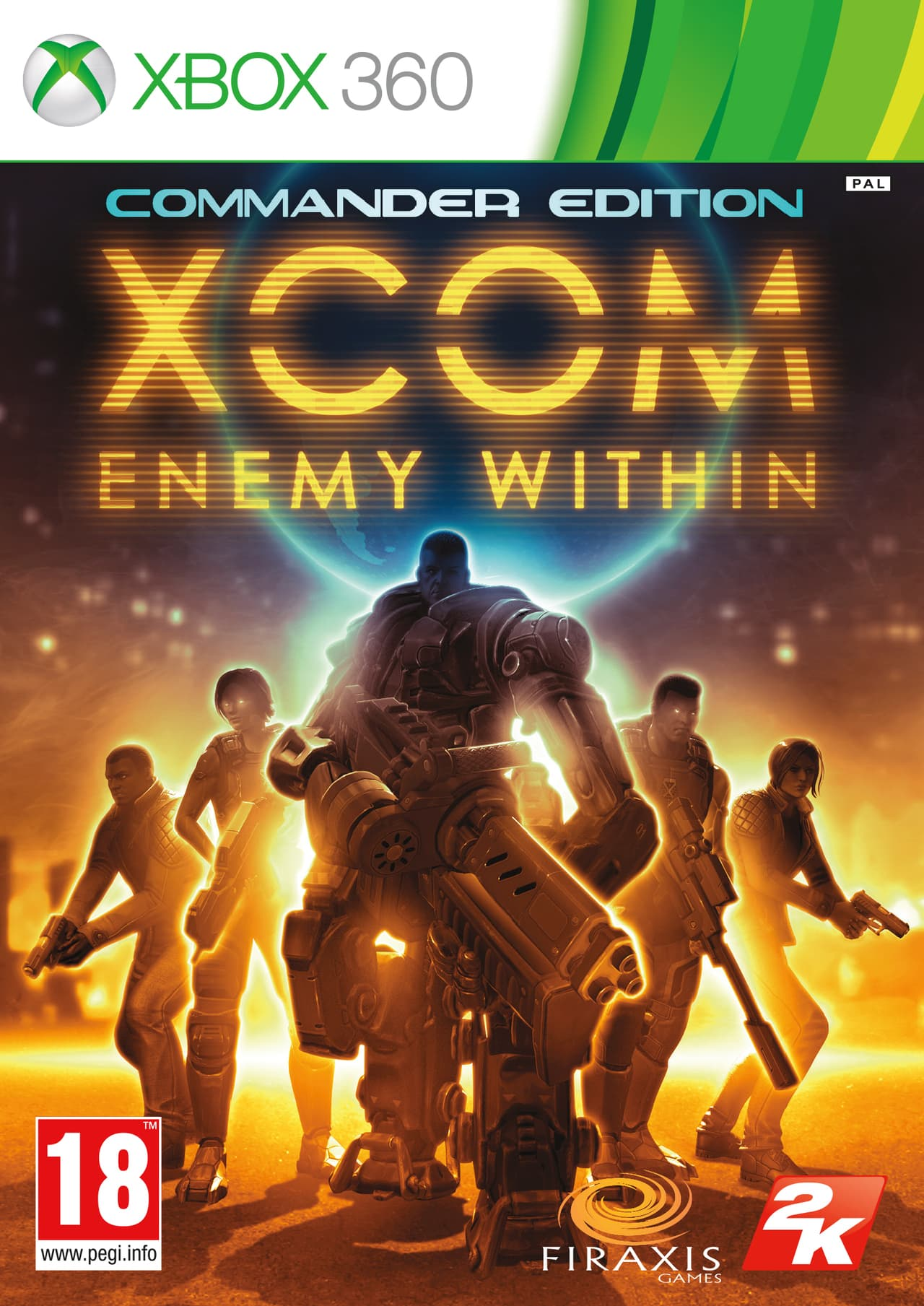 Jaquette XCOM : Enemy Within - Commander Edition