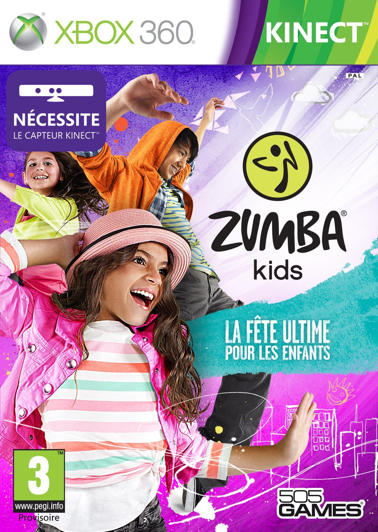 Jaquette Zumba Kids