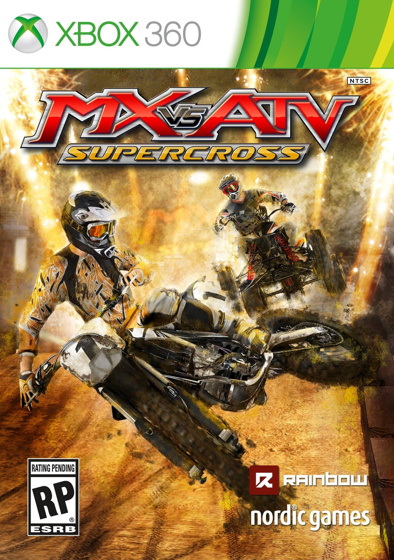 Jaquette MX vs ATV Supercross