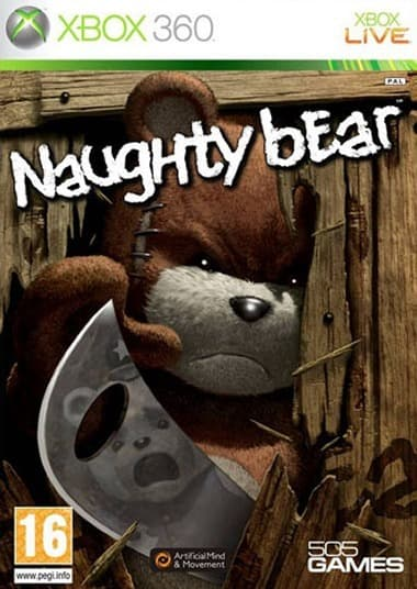 Jaquette Naughty Bear