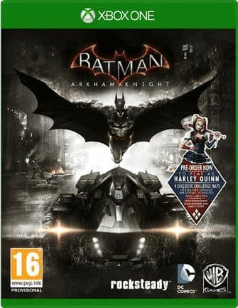 Jaquette Batman Arkham Knight