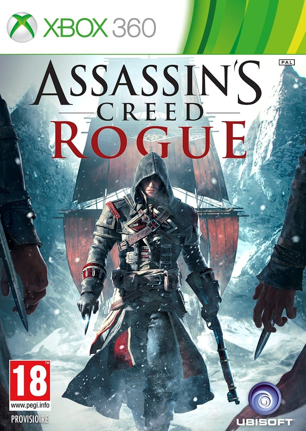 Jaquette Assassin's Creed Rogue