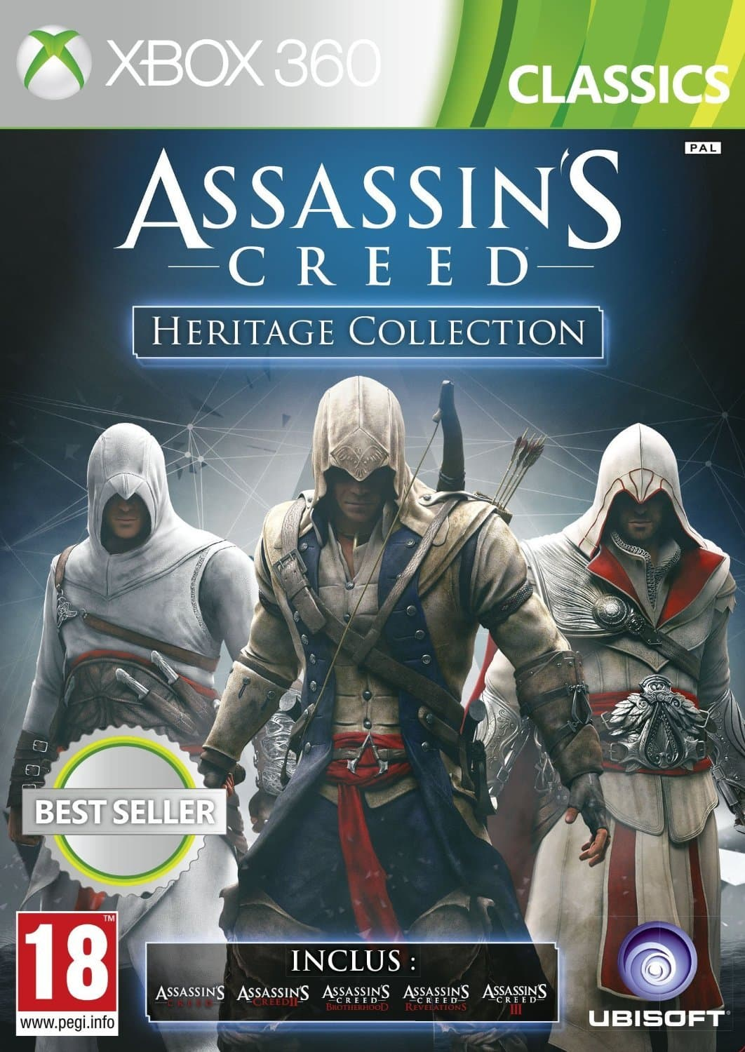 Jaquette Assassin's Creed - Heritage Collection