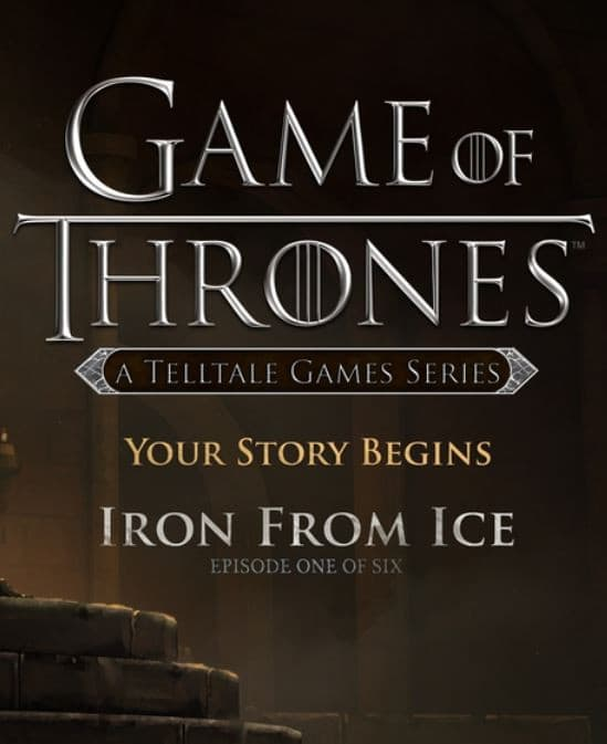 Jaquette Game of Thrones: Episode 1 - Iron from Ice