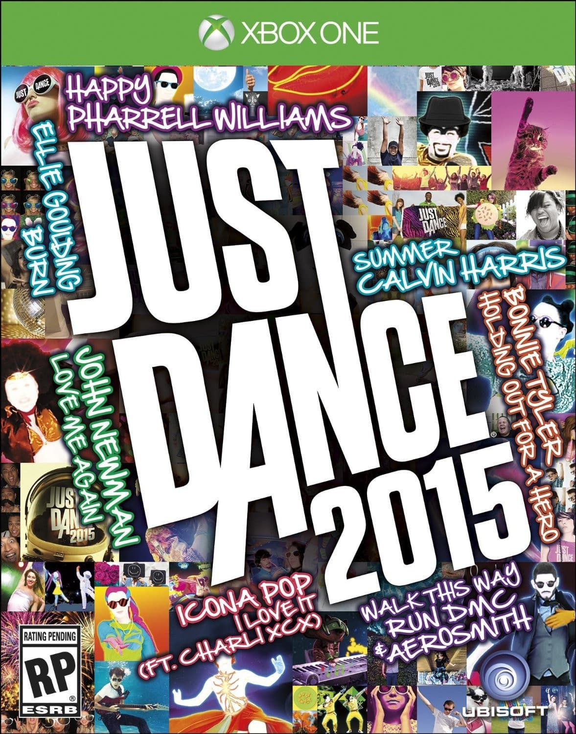 Jaquette Just Dance 2015