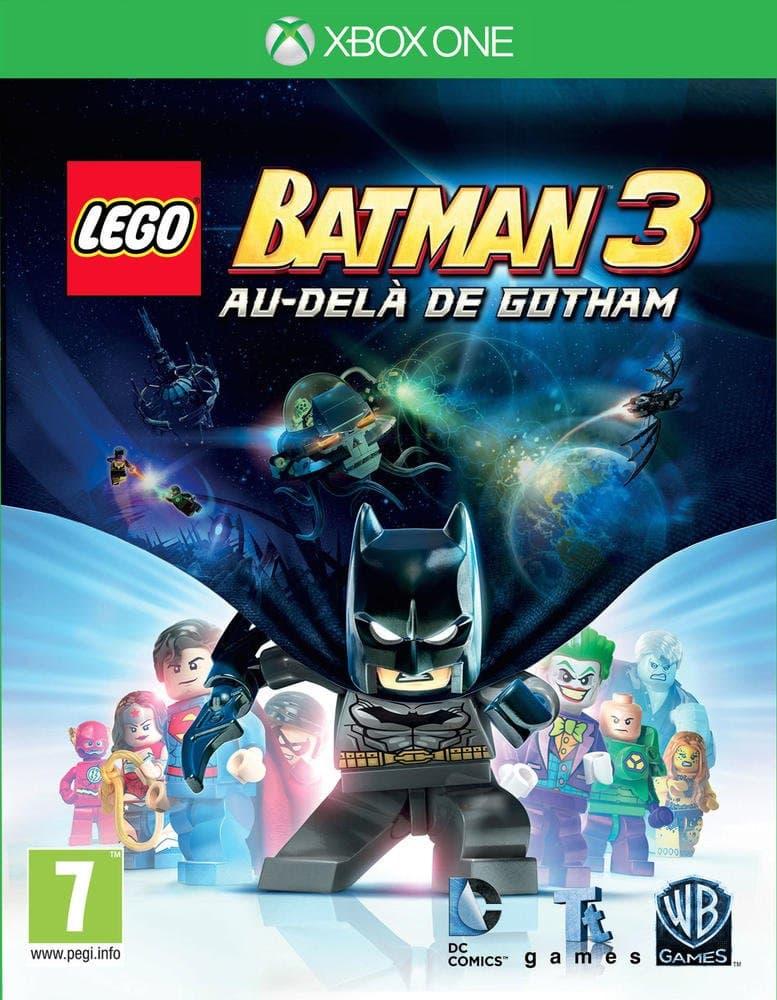 Jaquette LEGO Batman 3: Au-delà de Gotham