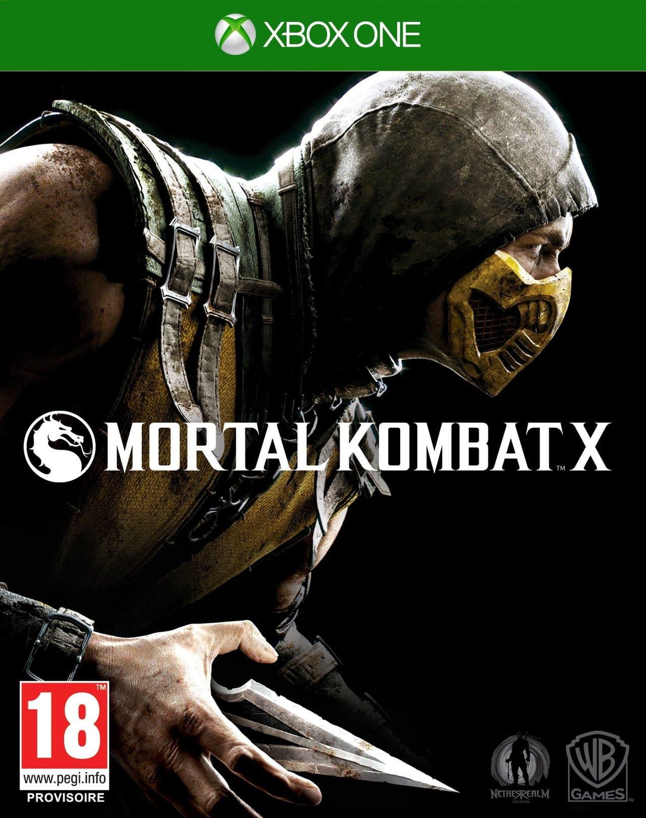 Jaquette Mortal Kombat X