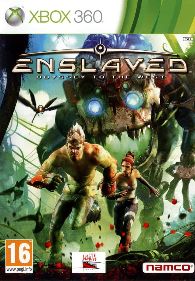 Jaquette Enslaved : Odyssey to the West