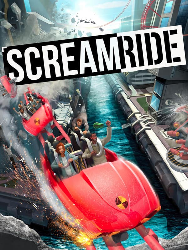 Jaquette ScreamRide