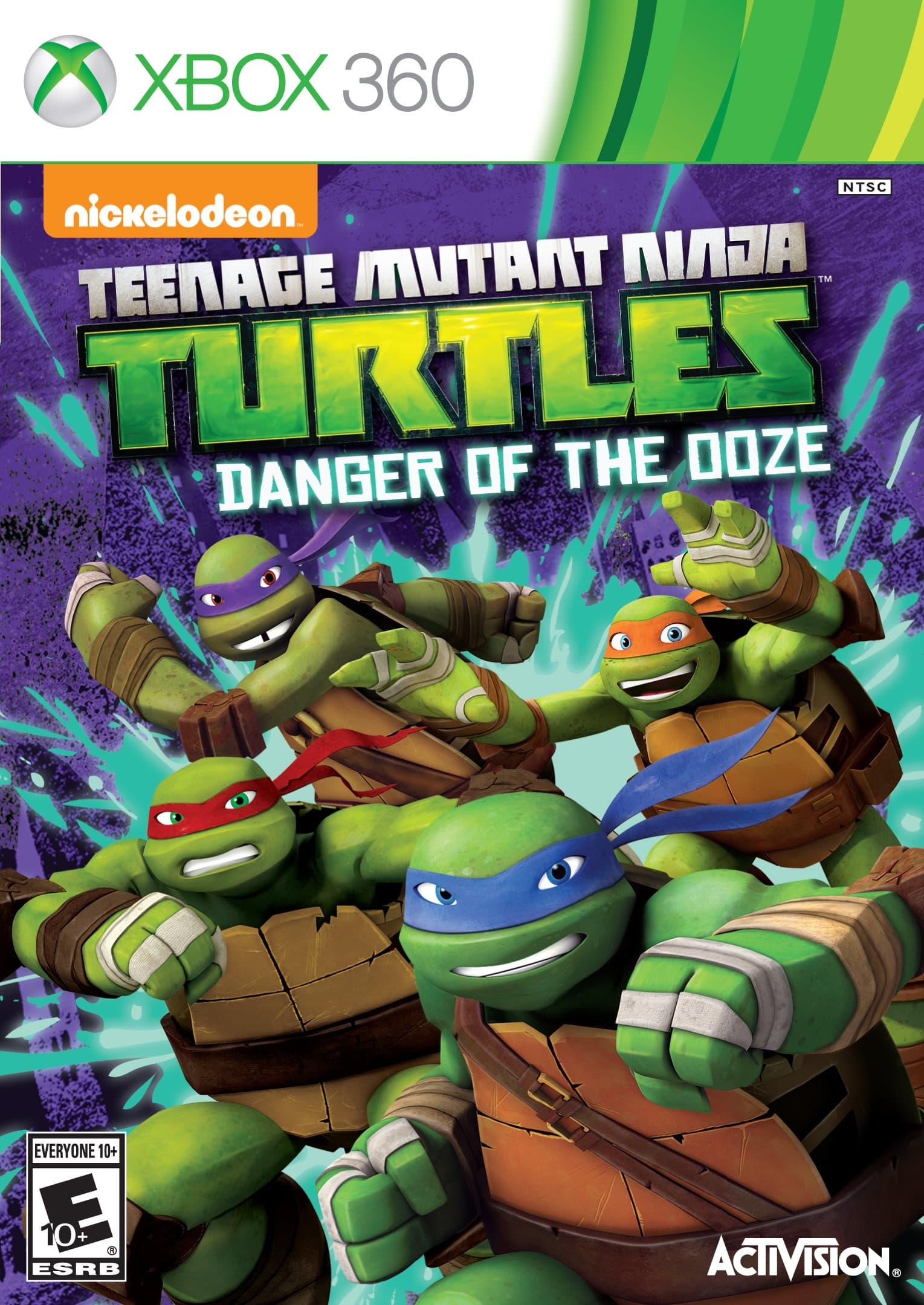 Jaquette Teenage Mutant Ninja Turtles: Danger of the Ooze