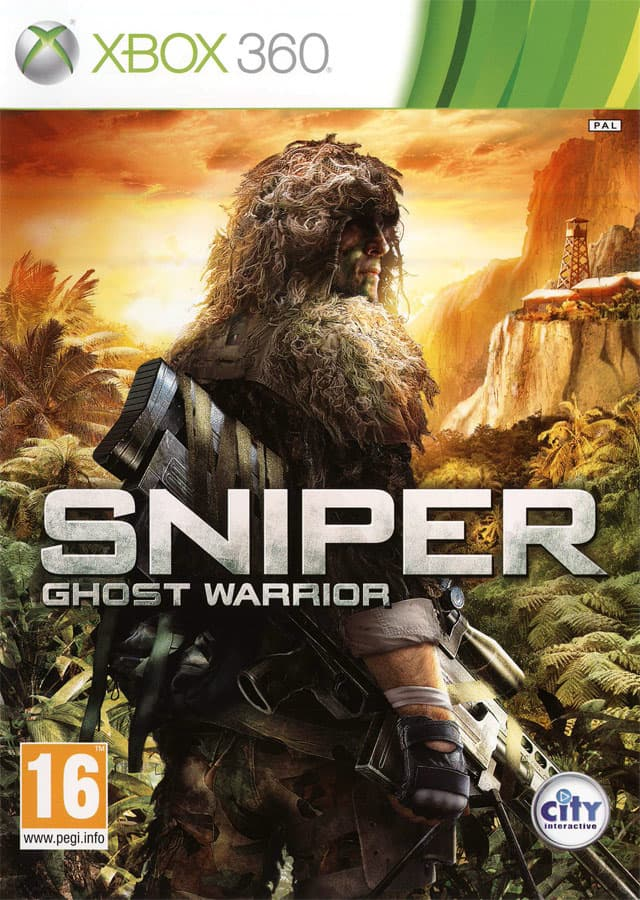 Jaquette Sniper : Ghost Warrior