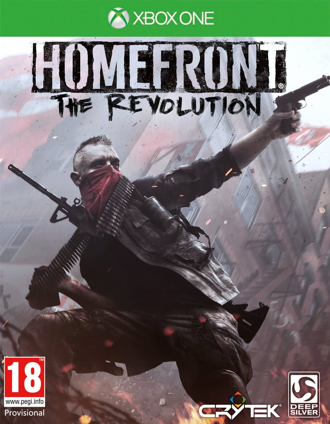 Jaquette Homefront : The Revolution