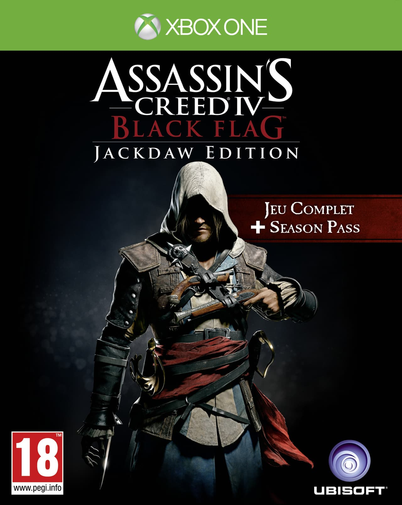 Jaquette Assassin's Creed IV : Black Flag - Jackdaw Edition