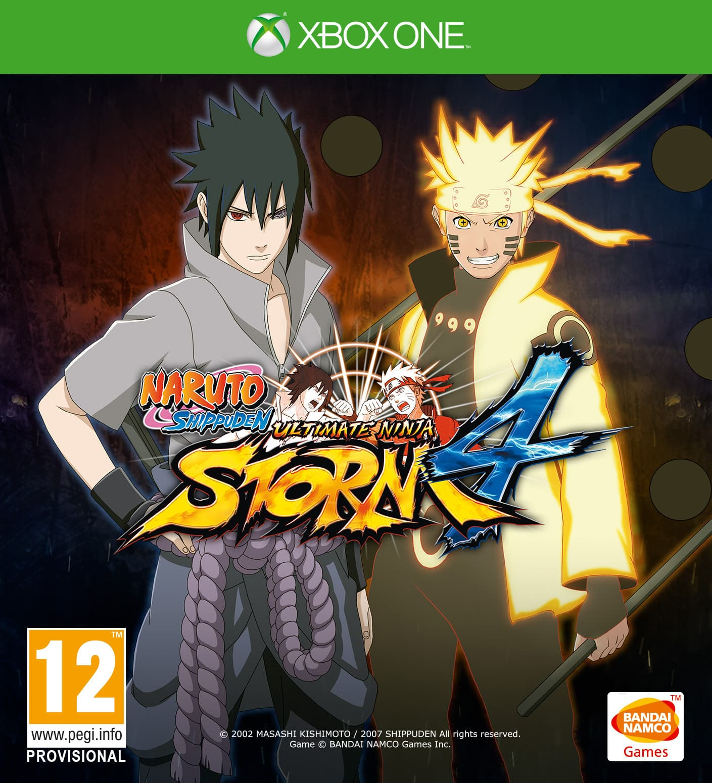 Jaquette Naruto Shippuden Ultimate Ninja Storm 4