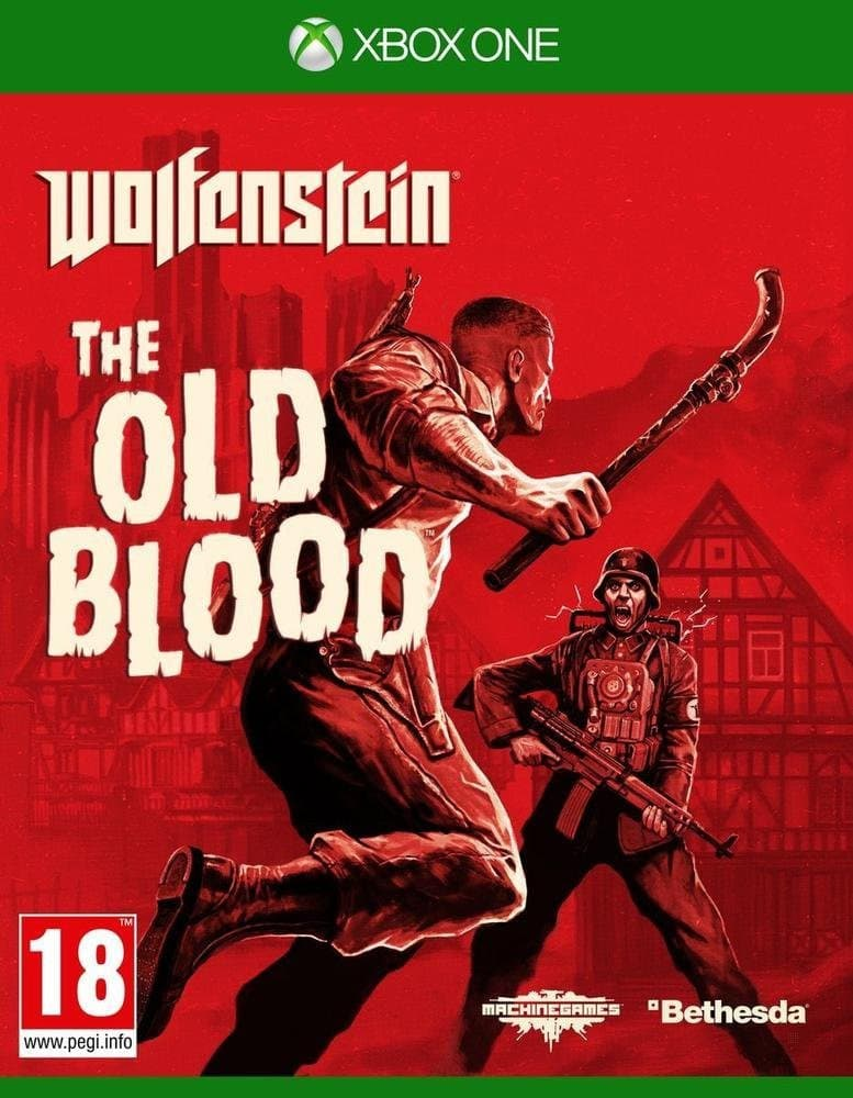 Jaquette Wolfenstein The Old Blood