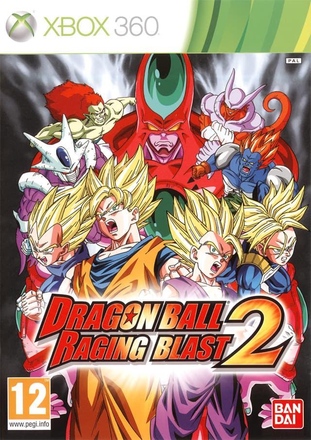 Jaquette Dragon Ball Raging Blast 2
