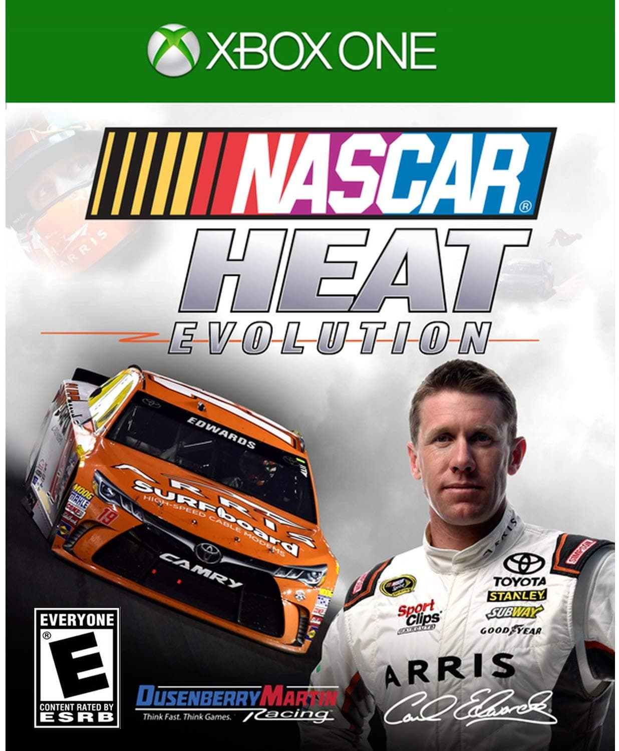 Jaquette NASCAR Heat Evolution
