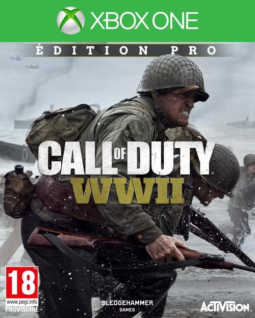 Jaquette Call of Duty: WWII
