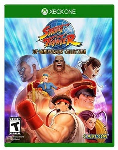Jaquette Street Fighter 30th Anniversary Collection