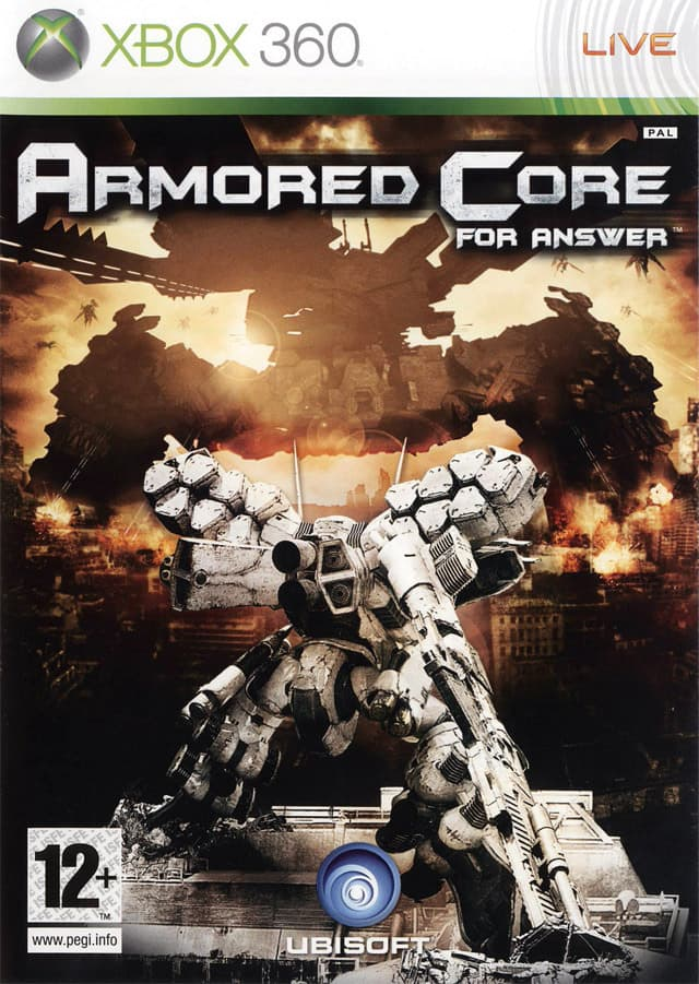 Jaquette Armored Core for Answer