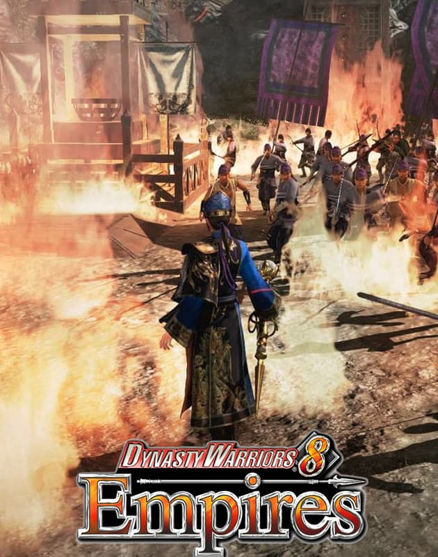 Jaquette Dynasty Warriors 8 : Empires