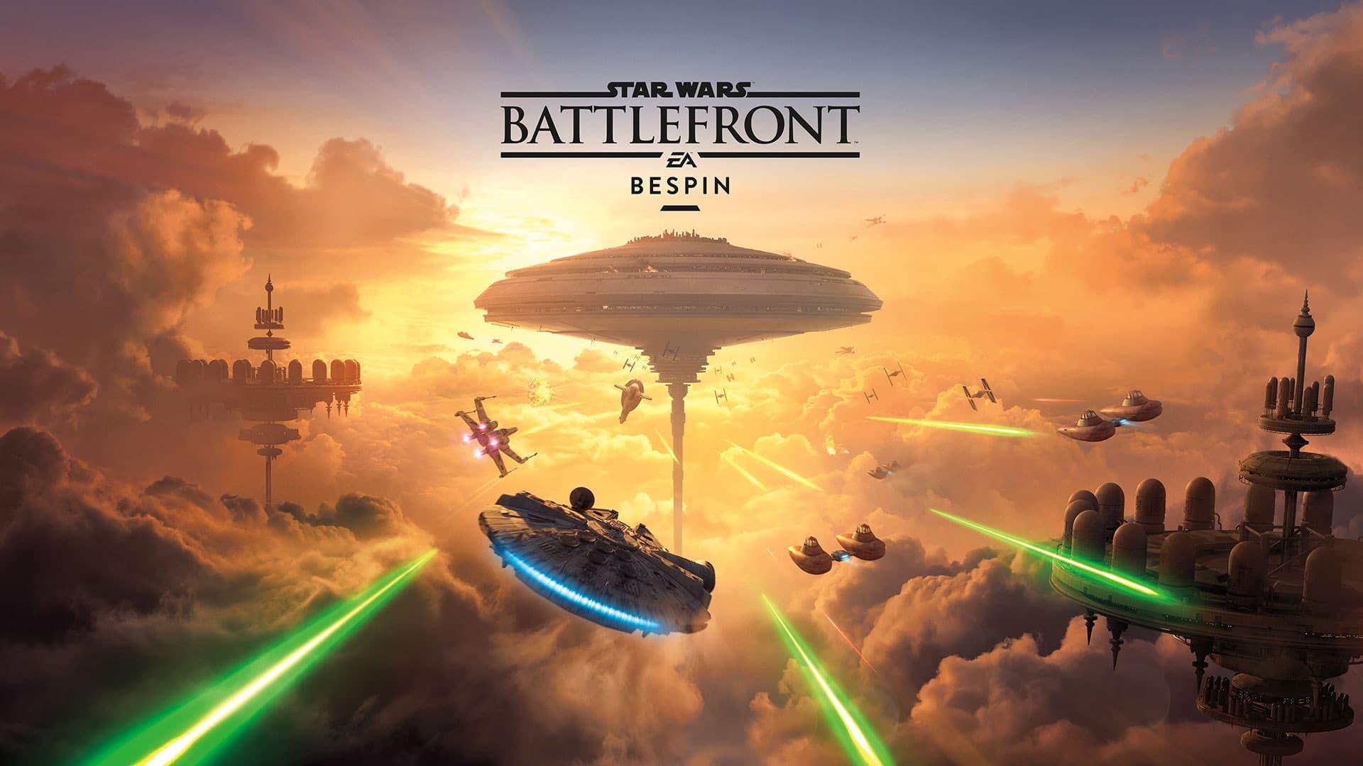 Jaquette Star Wars : Battlefront - Bespin
