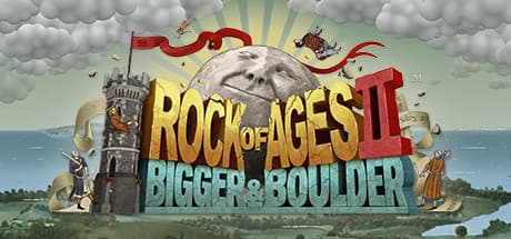 Jaquette Rock of Ages II : Bigger & Boulder
