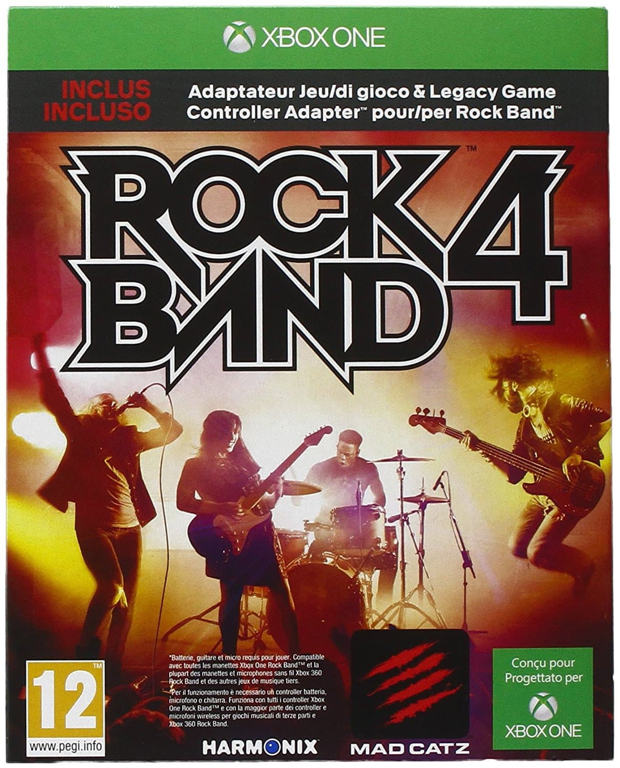 Jaquette Rock Band 4