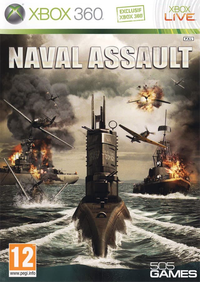 Jaquette Naval Assault : The Killing Tide