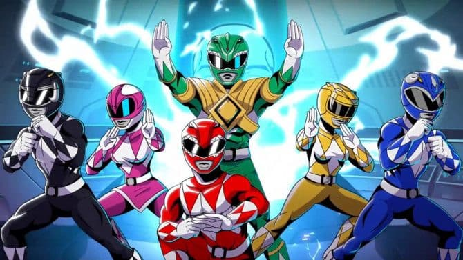 Jaquette Power Rangers : Mega Battle