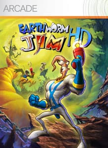 Jaquette Earthworm Jim HD